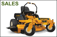 Garden machinery sales